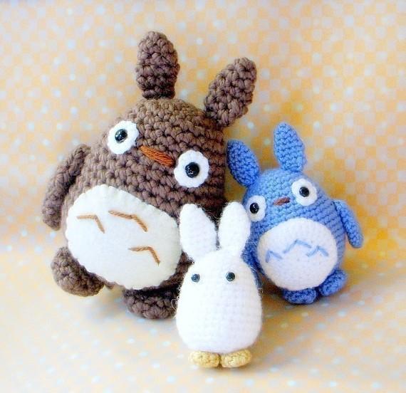 Totoro Friends Amigurumi pattern 3 crochet amigurumi ...