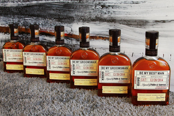 Private Listing for idoaoakes92 Happy Birthday Liquor Labels Woodford Reserve Distillery Birthday by iDoArtsyWeddings