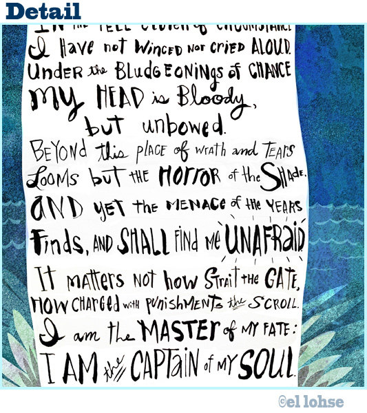 Captain Of My Soul Invictus Poem Inspirational