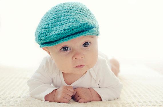Crochet Pattern PDF - Seamus Scally Cap (Child Sizes) by injenuity