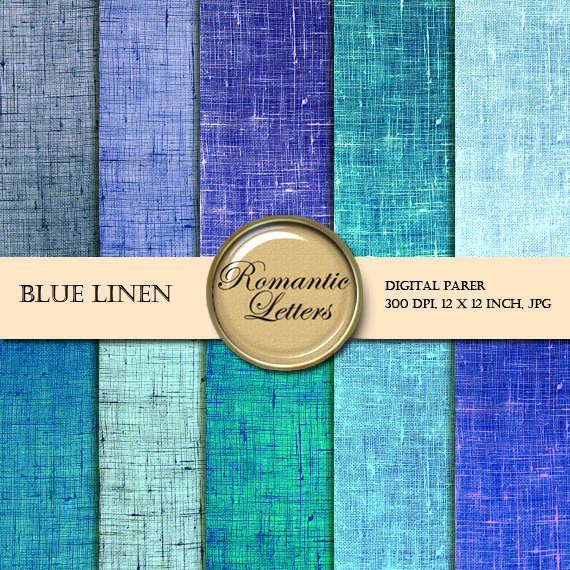 picture about Printable Burlap Paper known as Electronic paper pack linen blue texture electronic sbook