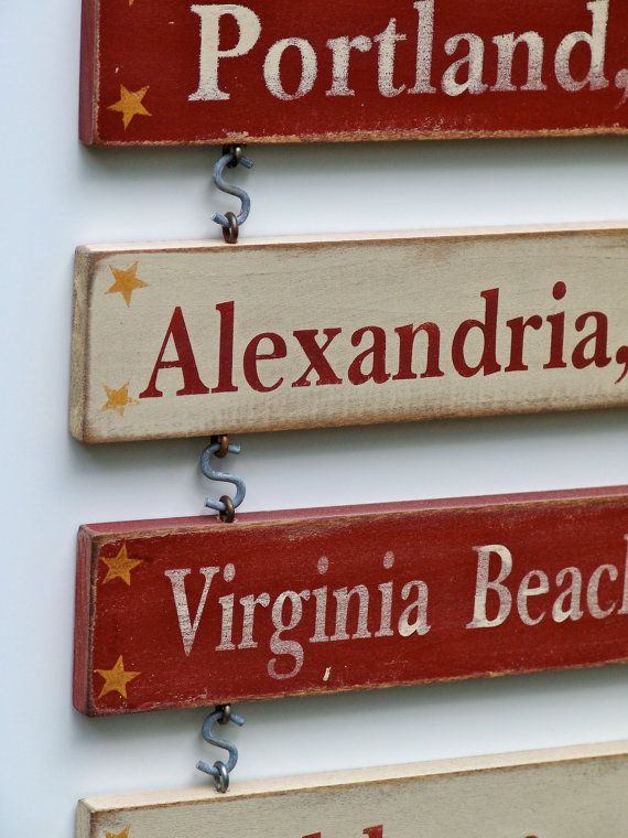 Additional Duty Station for Home sign - Hand Painted CUSTOM by WordBoards