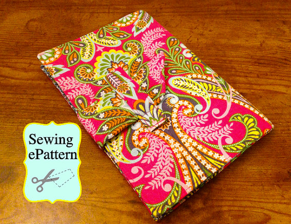 Sew Spoiled iPad Air Folding Case / Notebook / Stand ePattern by Sewspoiled