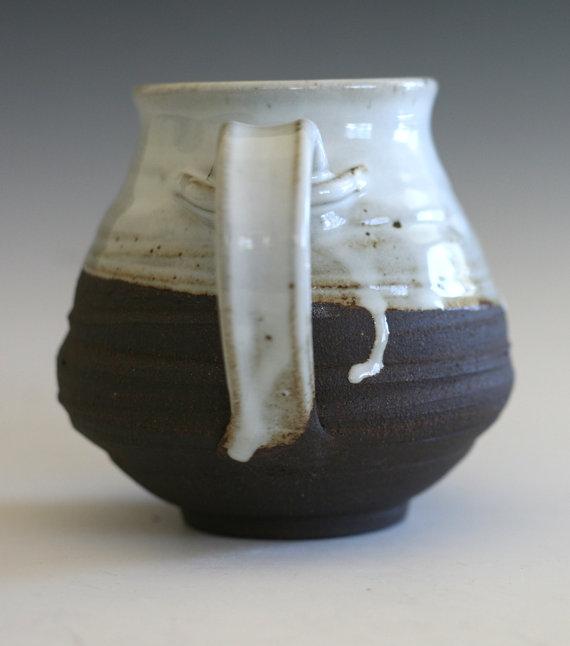 LARGE Coffee Mug, 26 oz, handmade ceramic cup, tea cup, coffee cup by ocpottery
