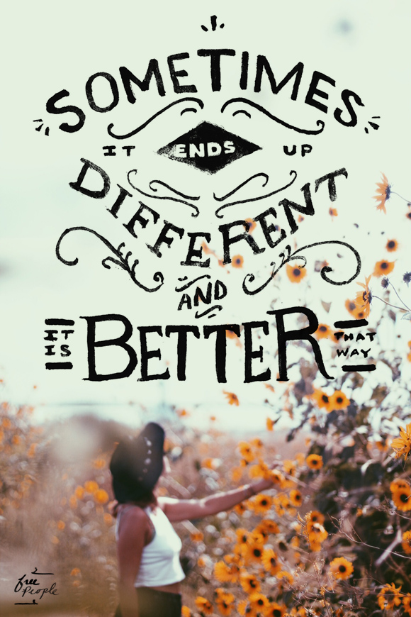 Monday Quote: It\'s Better That Way | #DIY #Crafts #Recipes