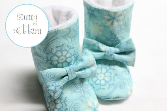 Baby Boots Pattern - Winter Boots by petitboo