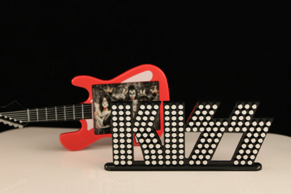 KISS Cake Kit/ Cake Decoration / Cake Topper / Rock Band by ChristyMaries83