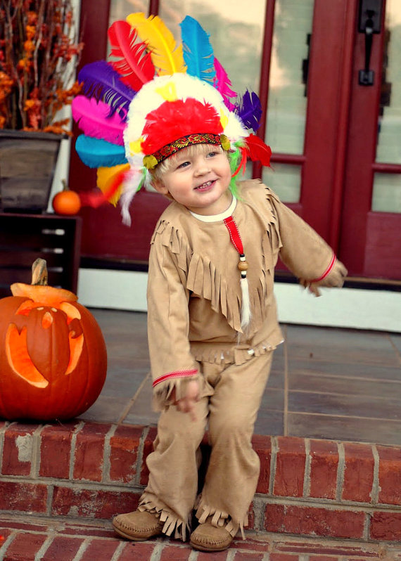 Toddler American Indian Costume