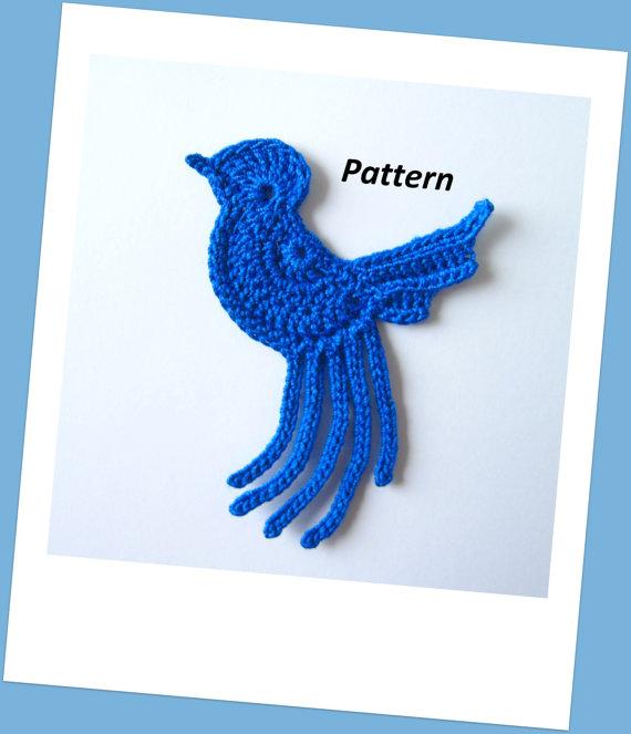 Bird Crochet Pattern by GoldenLucyCrafts