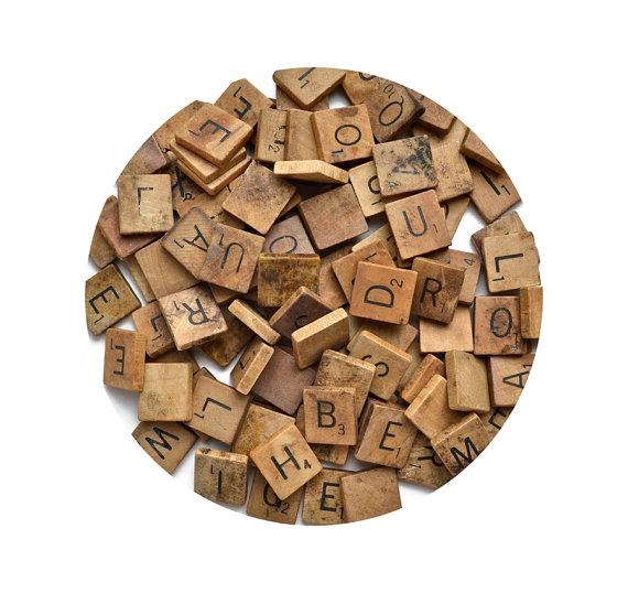 Diy Scrabble Letter Crafts