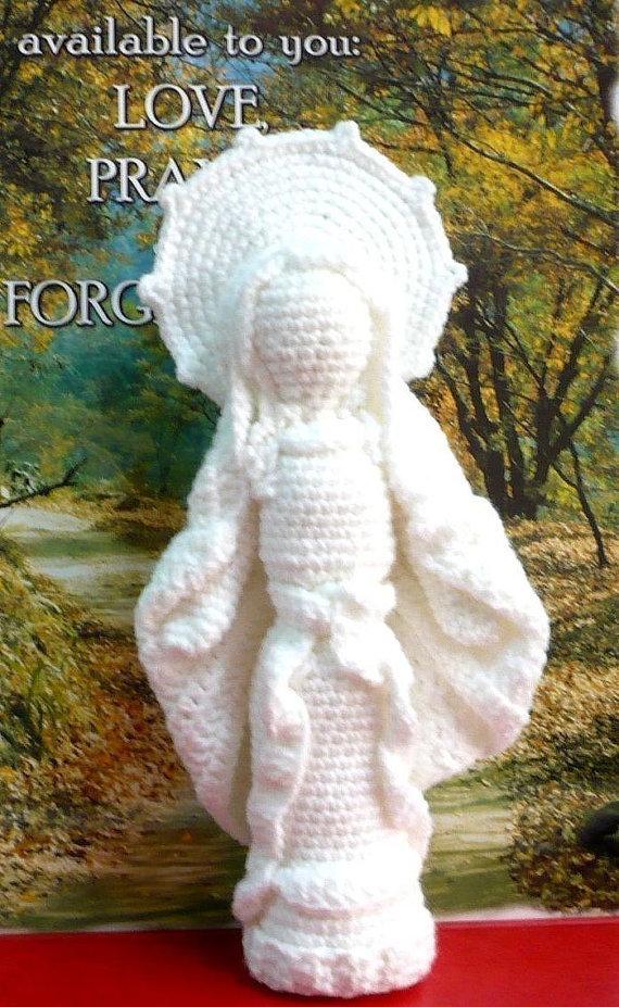 Mother Mary Crochet Amigurumi Pattern Doll Crochet Pattern PDF Instant Download Virgin Mother Mary by melbangel