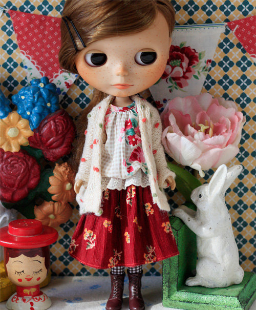 Sugarbabylove – Rose set for Blythe by SugarbabyloveDoll