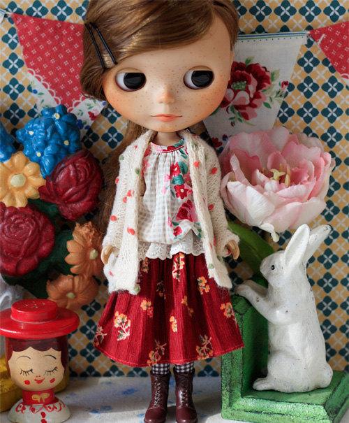 Sugarbabylove – Rose set for Blythe by SugarbabyloveDoll