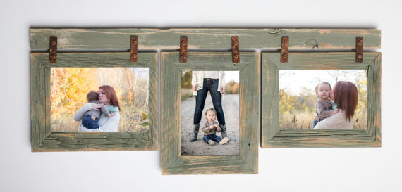 2 Quot Barnwood Collage Sage Frame 3 810 Multi Opening Frame