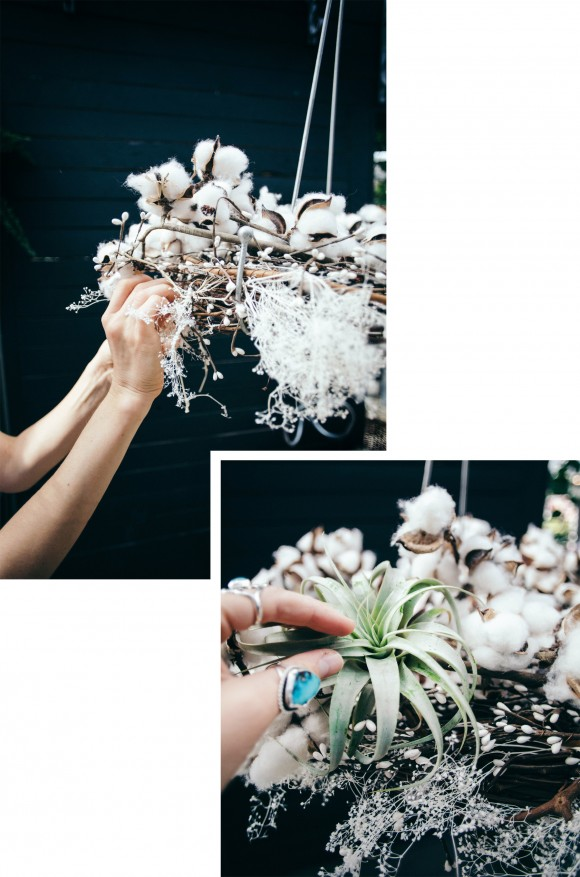 Get Your Home Holiday Ready With This Dreamy DIY Hanging Wreath