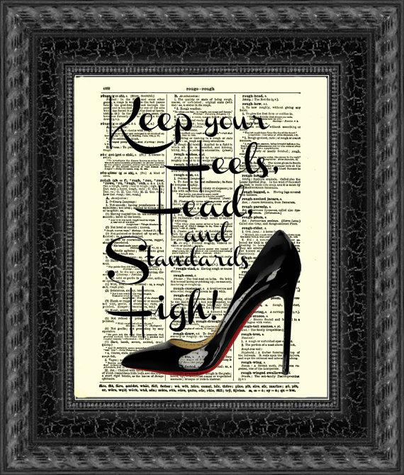 215e7bfa636b8 Keep Your Heels, Head and Standards High Black Stiletto Heel ...