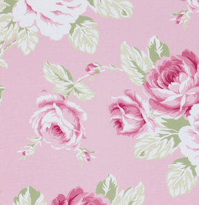Full Bloom in Pink ..Sunshine Roses collection..Tanya Whelan .. Free Spirit Fabrics by PomegranatePlace