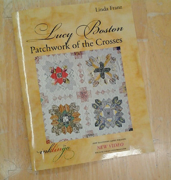 Lucy Boston Patchwork of the Crosses by Linda Franz of Inklingo by sweetgirlstudio