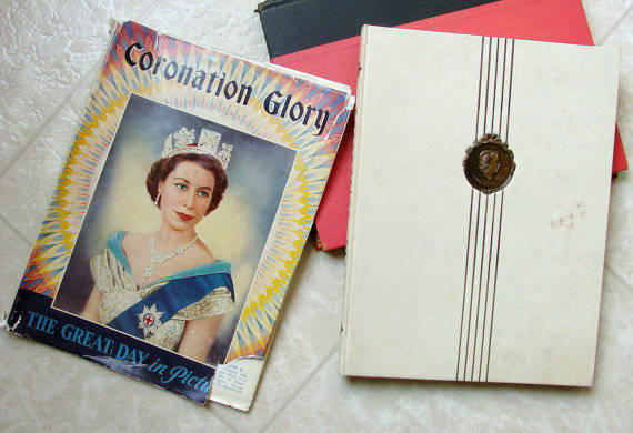 Coronation Glory Great Day in Pictures 1953 First Edition Pageant of British Queens by TheVintageConnection