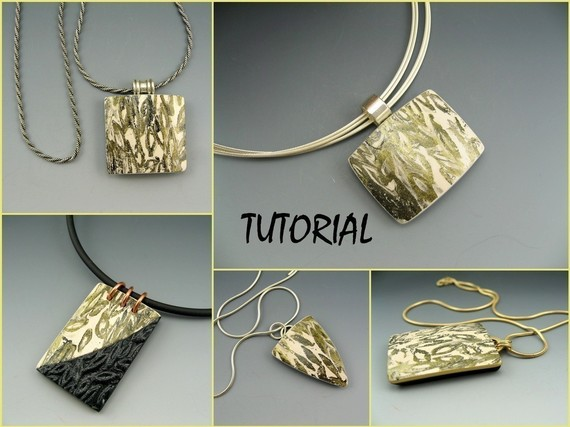 Tutorial polymer clay pendant construction and decorative surface tutorial polymer clay pendant construction and decorative surface technique by stonehousestudio aloadofball Choice Image