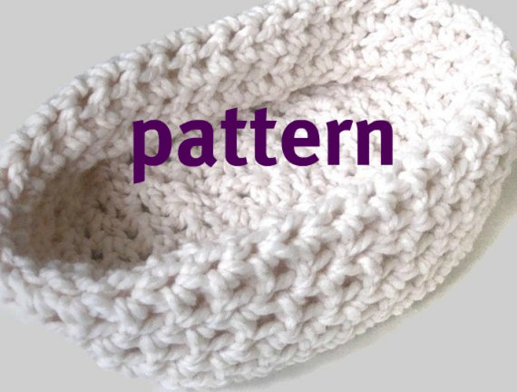Baby Bowl CROCHETING PATTERN, Newborn Chunky Photo Prop, Sell What You Make, Instant Download by PropShop