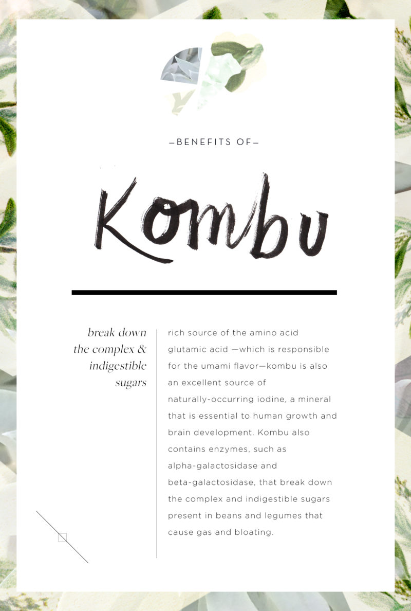 Wellness Encyclopedia: Why Kombu is Good For You + The Perfect Lentil Salad