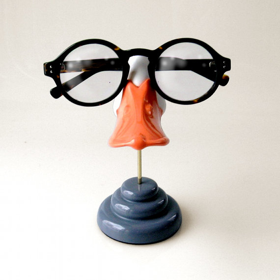 Duckbill eyeglass stand, Funny sunglasses display, Kids glasses holder, Men, Women, novelty gift by ArtAkimbo