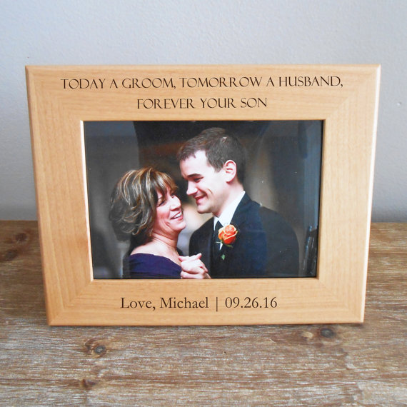 Personalized Mother of the Groom Picture Frame, Personalized Mother of the Groom Gift, Gift for Mother of the Groom, FAST SHIPPING by LifetimeCreations