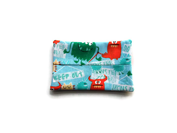 Fabric Monster Tissue Holder – Monsters by DolphinBlue