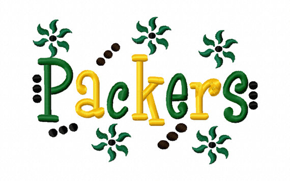Packers Applique Machine Embroidery Design 4x4 7x5 10x6 Greenbay Wisconsin Team Instant Download Basketball Football Baseball Softball Sport by SewSpoiledBoutique