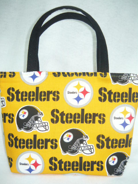 Pittsburgh Steelers Kids Bag by sewtrendyrose